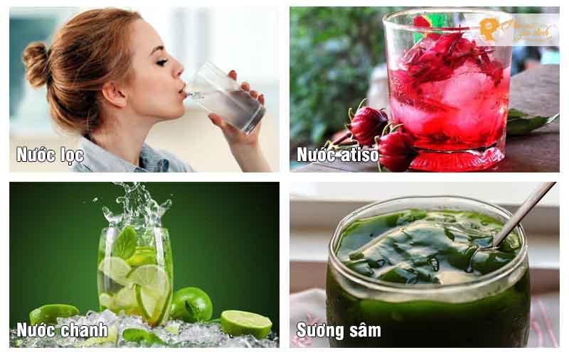 Thức uống giúp đẹp da giảm mụn