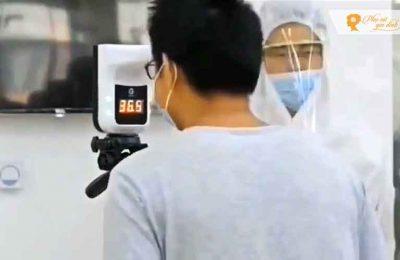 Nhiệt kế điện tử đo trán không tiếp xúc hoạt động ra sao?