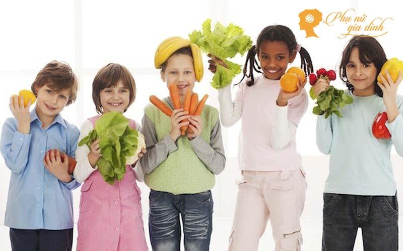 Trẻ em có thể ăn chay nhưng phải đa dạng