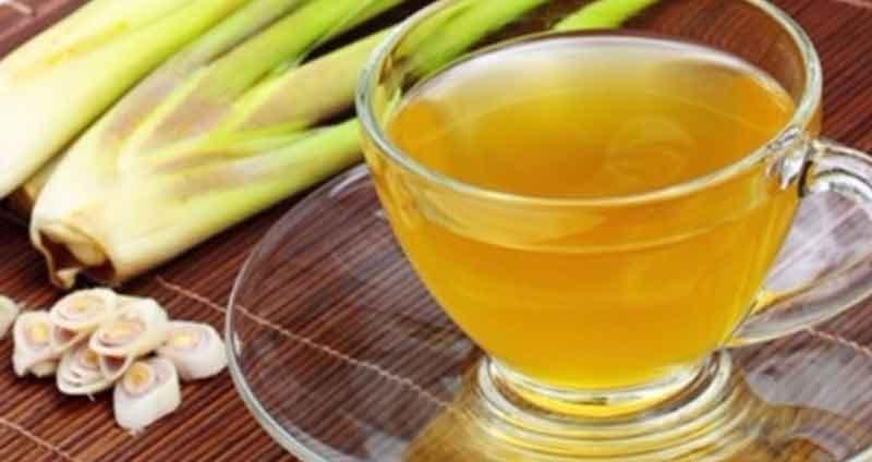Trà sả là thức uống cứu tinh trong mùa đông lạnh giá. (Ảnh: Internet).
